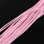 Snur elastic roz perlat