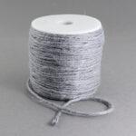 Snur fibra naturala gri