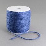 Snur fibra naturala albastru
