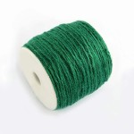 Snur fibra naturala verde inchis