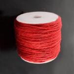 Snur fibra naturala rosu
