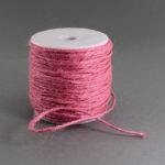 Snur fibra naturala roz