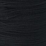 Snur impletit nylon negru