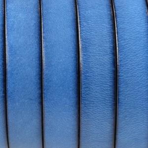 Piele lata culoare albastru