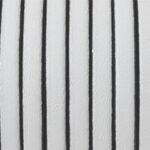 Piele naturala lata culoare alb