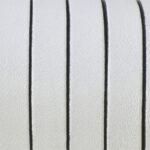 Piele lata culoare alb