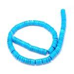 Margele rondele turquoise natural