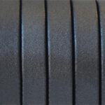 Piele naturala lata antracit metalizat