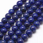 Margele rotunde lapis lazuli