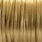 Piele naturala lata auriu