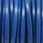 Snur piele naturala albastru