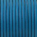 Piele naturala lata turquoise
