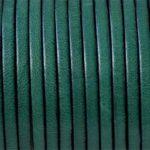 Piele naturala lata verde inchis