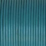 Snur piele naturala turquoise