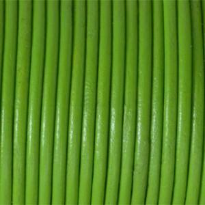 Snur piele verde fistic