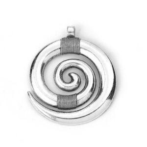 Pandantiv circular spirala