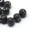 Disco ball Negru